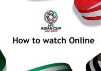 how to watch AFC Asian Cup 2019 Opening Ceremony
